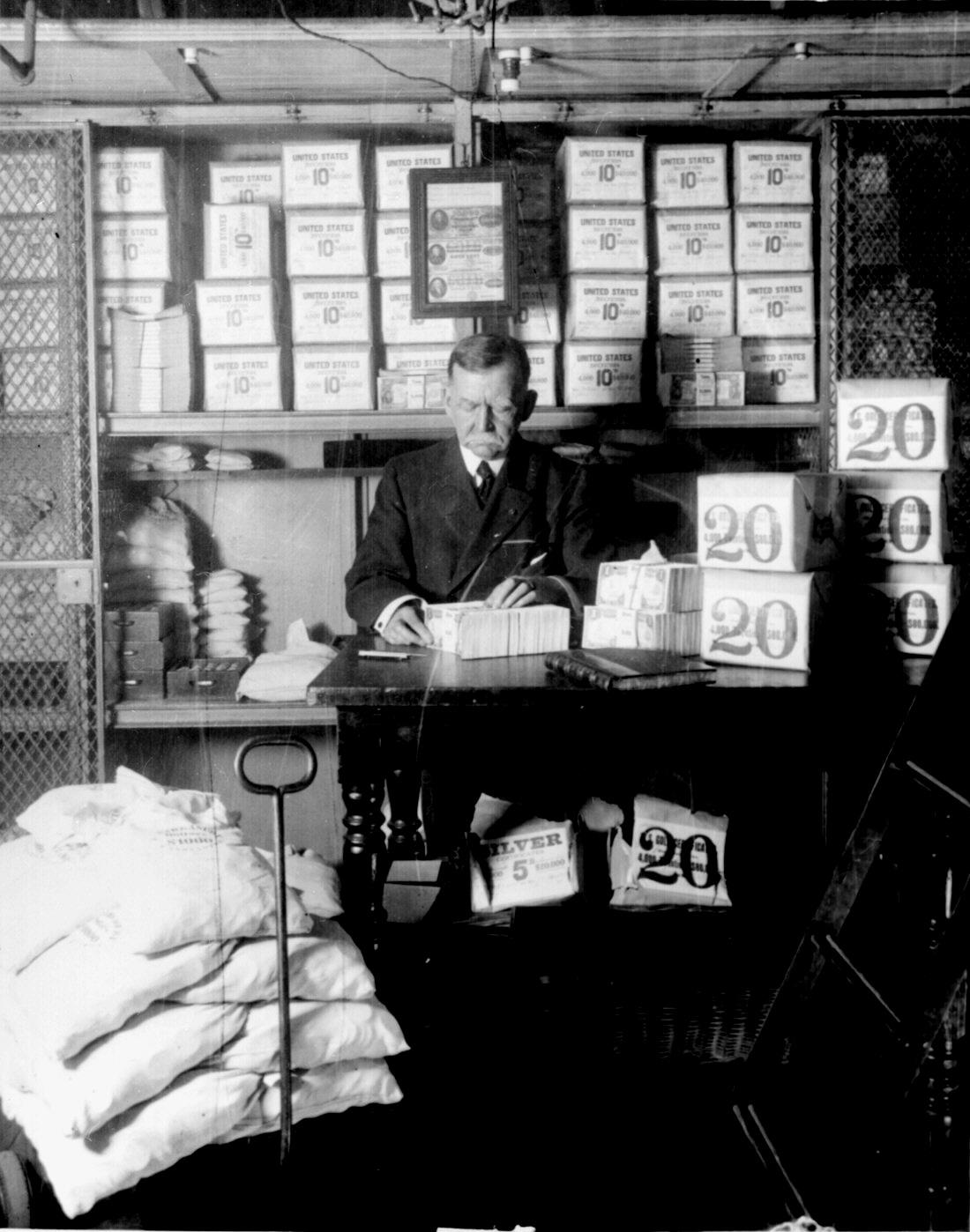 US Treasury 1907