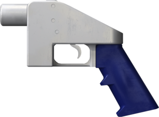 The Liberator 3D-printed hand gun