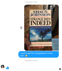 Shaun Johnson conversation