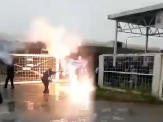 Nurses in Welkom getting shot at by police